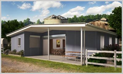 The Rural Breezeway 4 Bedroom Kit Home Owner Builder