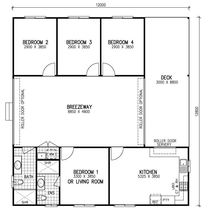 Breezeway house floor plans – Home photo style