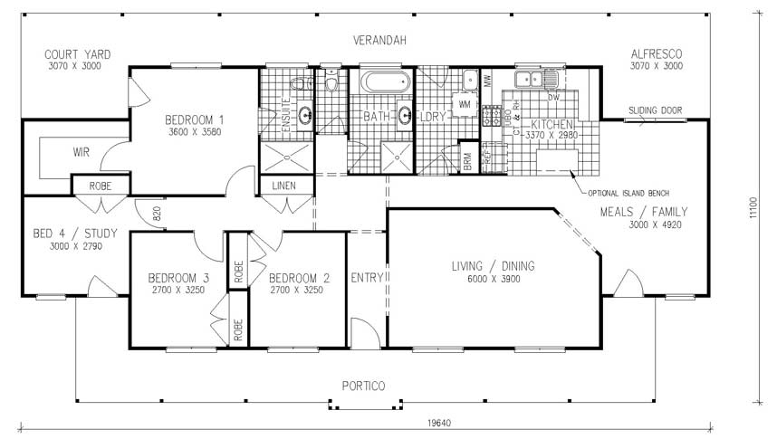 Modular home large modular home floor plans for Large house plans